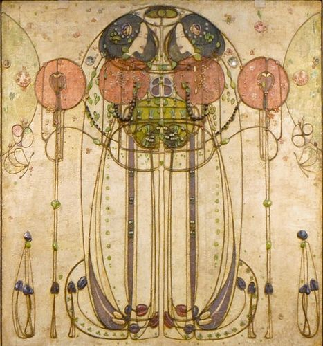 Charles Mackintosh - Wassail (detail) - or is it by Margareth Macdonald Mackintosh?