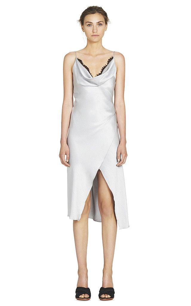 Camilla And Marc - Grazia Midi Dress - Silver