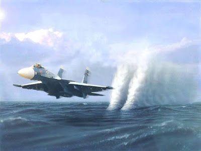 Αντιγραφάκιας: Ρωσικά μαχητικά αεροσκάφη Su-24 ανάγκασαν το αντιτ...