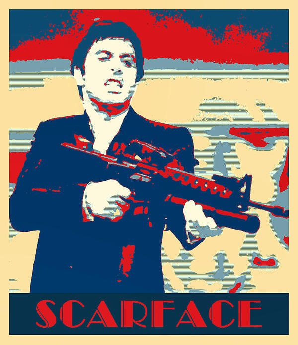 Scarface Poster By Dominic Piperata