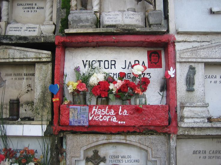 Victor Jara, chilean musician, killed in Chile's National Stadium 1973, by the military junta,