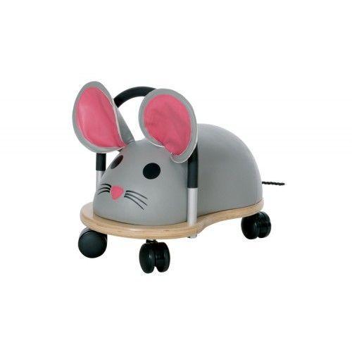 Wheelybug Muis groot. Met deze super snelle muis race je door het hele huis! Geschikt voor kinderen van 2,5 en 5 jaar.  http://www.planethappy.nl/wheelybug-muis-groot.html