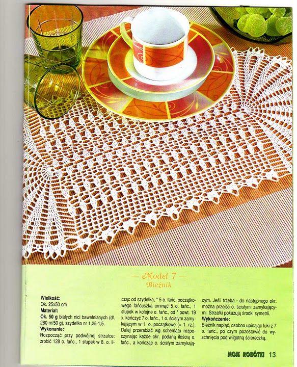 Voici des modèles des napperons ovales au crochet , avec leurs diagrammes gratuits , ou leurs grilles gratuites .. Un joli modèle du napperon ovale a u crochet Et voici le diagramme /grille gratuite et du napperon au crochet Un autre modèle de napperon...