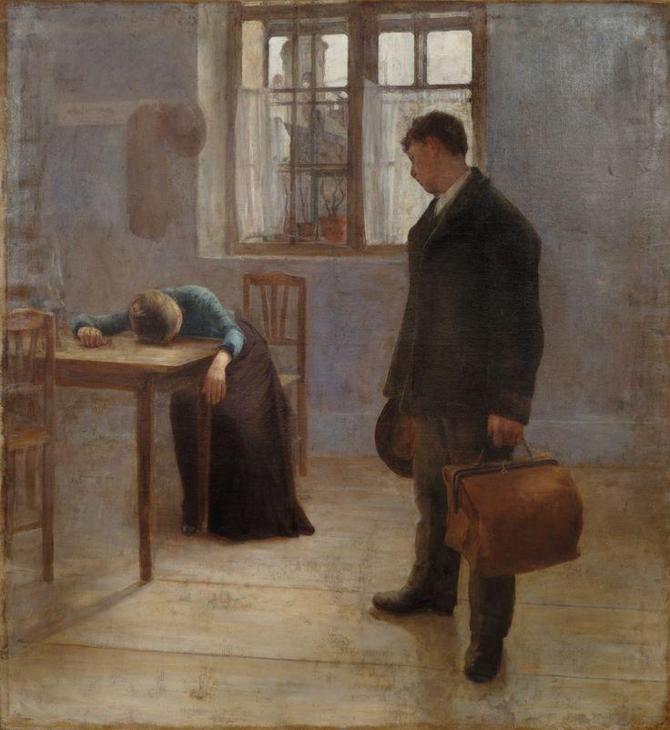 Károly Ferenczy : Válás, 1892