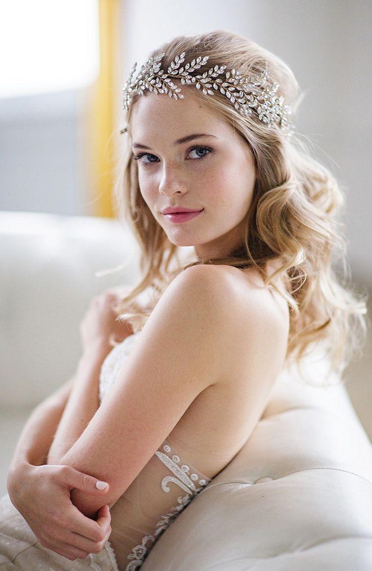 'Kira' Jeweled Headband by Brides & Hairpins