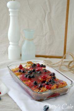 Tostadas francesas (French toasts) con arándanos y frambuesas, desayuno a cuerpo de rey | Cocina