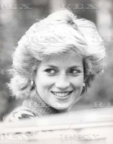 September 24, 1985: Princess Diana on Prince William's first day at Mrs Mynor's Nursery School in Notting Hill Gate, London.
