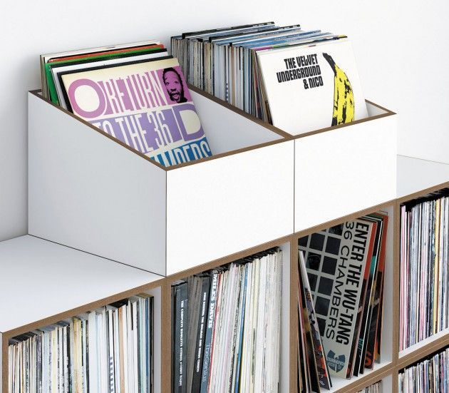 14 best Furniture for vinyl records   Record storage images on