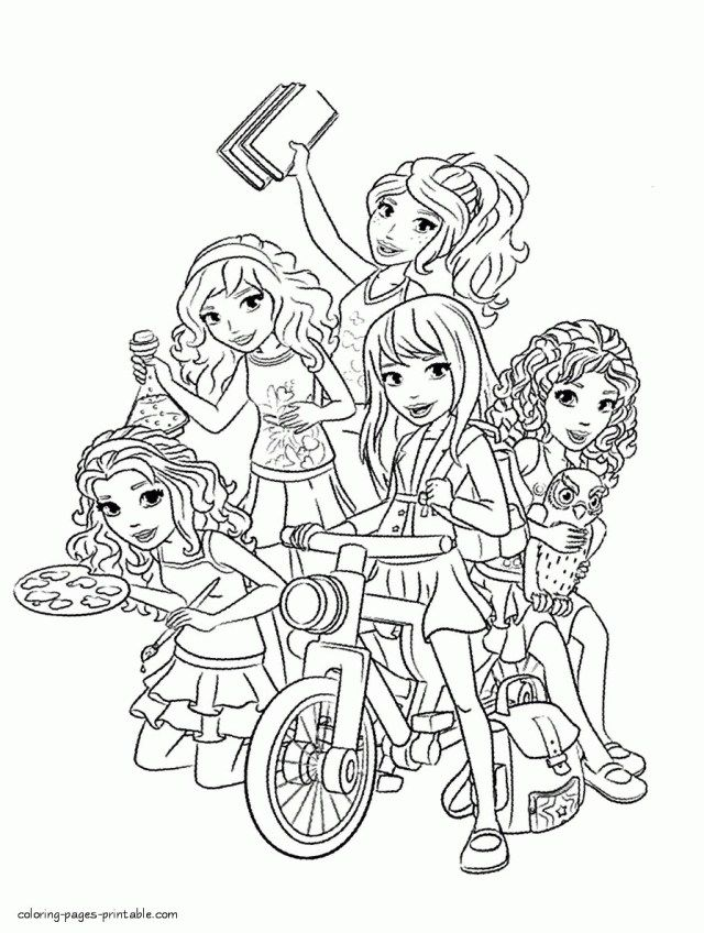 - 25+ Brilliant Image Of Lego Friends Coloring Pages - Entitlementtrap.com Lego  Coloring Pages, Lego Friends Birthday, Lego Friends Birthday Party