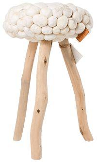 Hollandse Glorie, dit krukje van 0304! Gemaakt van schapenwol en afvalhout