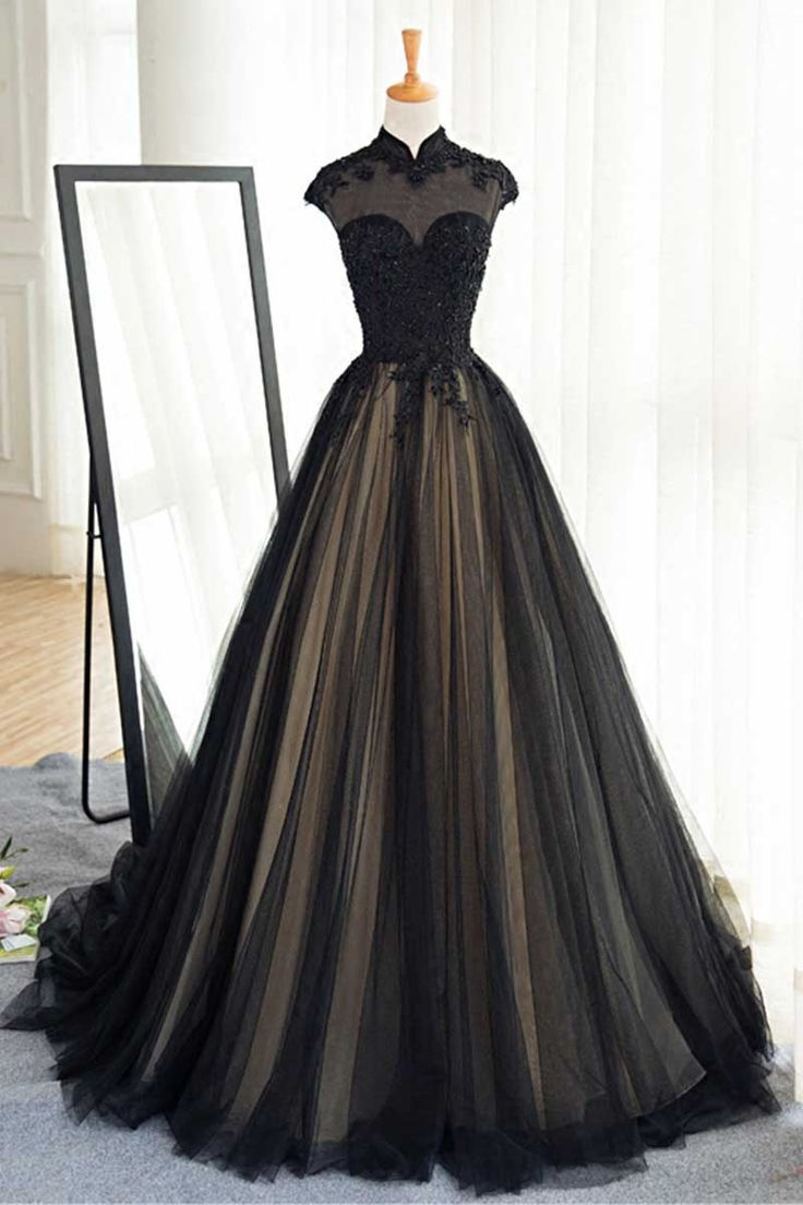 Wedding Black Tulle Dress 17 best ideas about black tulle dress on pinterest gown party wear pretty dresses and navy ball dresses