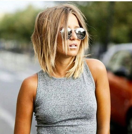 Best 25 Long  bob  haircuts  ideas on Pinterest Long  bobs
