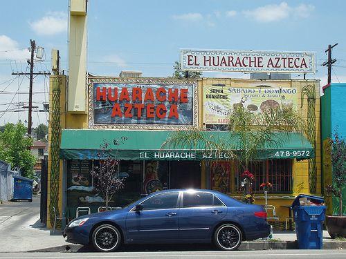 El Huarache Azteca & Figueroa Produce Market | Departures - Community | KCET