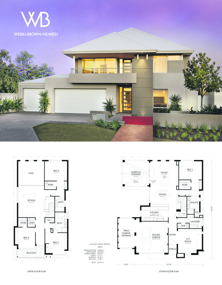The Cascades by Webb and Brown-Neaves. View it at 12 Granich Gdns, Woodlands or http://www.wbhomes.com.au