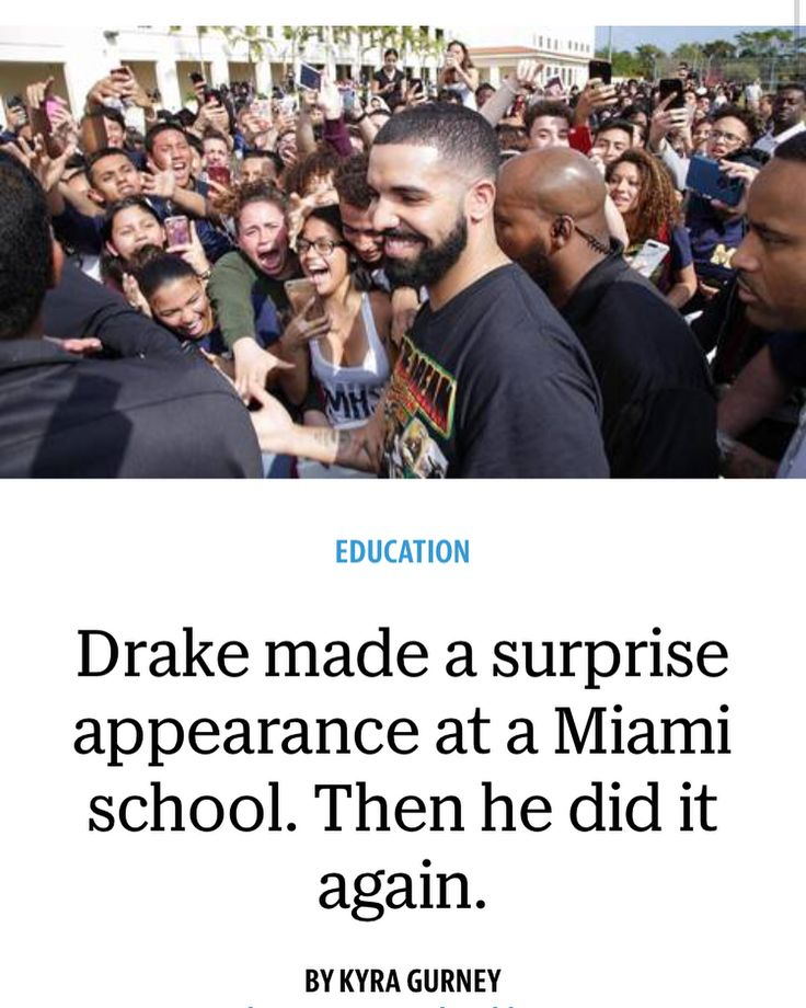 309 likes  aubsandrobsFeb 5: Drake shoots #GodsPlan video at Miami Senior High School  surprises the school with $25K and promises OVO uniforms and a free future concert. He continued shooting at The University of Miami afterwards ❤️