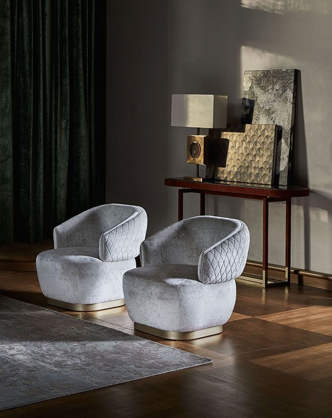 Upholstered Design Armchair Sophie By Mobili Design Di Mobili