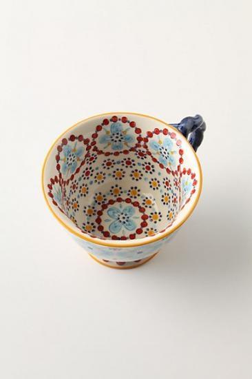 Moroccan tea cup//