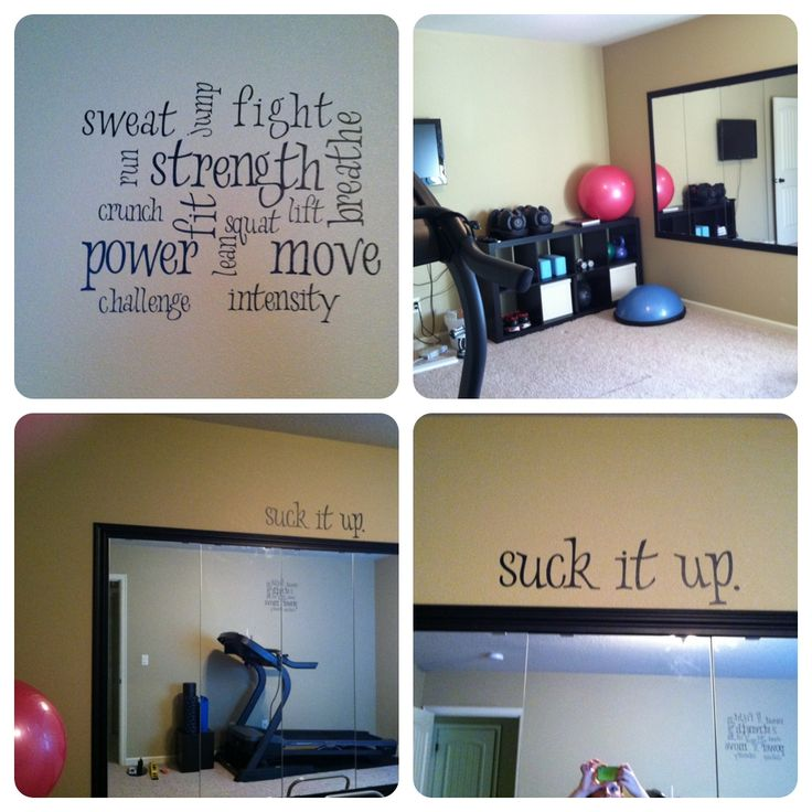 Thinking about making a home gym? Here's some tips to help you put together the perfect workout space on any budget! #gym Home Gym Ideas. The easy way to buy or sell your home and maximize your ROI -  http://www.LystHouse.com