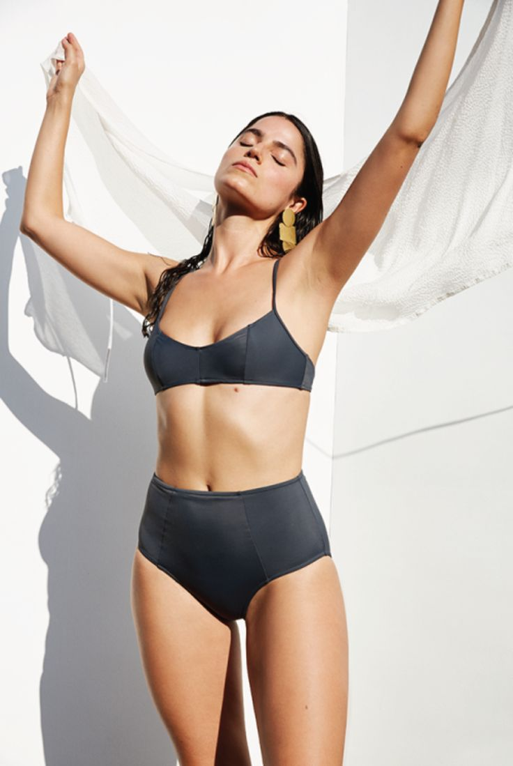Established in 2014 by designer Misa Miyagawa, Botanica Workshop turns out a few small runs of bras, undies, camisoles, and so on each year, all made in Los Angeles of organic and sustainable materials. This season, they broke into swimwear using recycled materials.