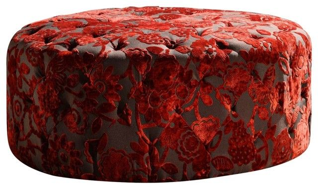 17 Best Images About Ottomans On Pinterest Round Ottoman