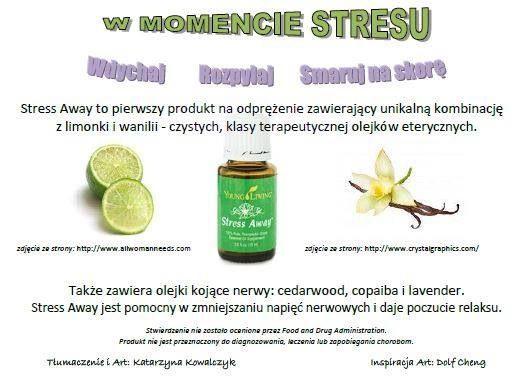 Olejki young living na Stress