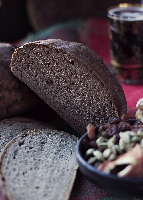 Szwedzki chleb świąteczny, korzenny.
