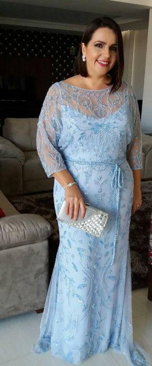 Vestido mãe da noiva ou do noivo