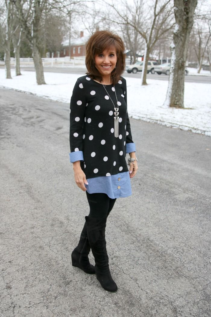 HAIR! Tunic With Leggings-What I Wore
