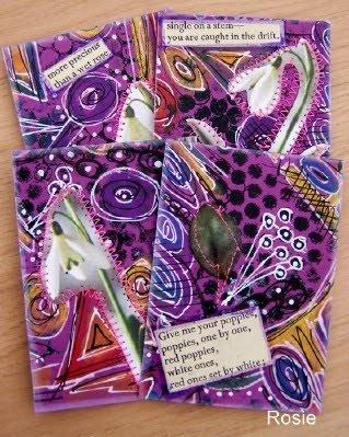 Doodle, Artist Trading Card Swaps #atc #cards