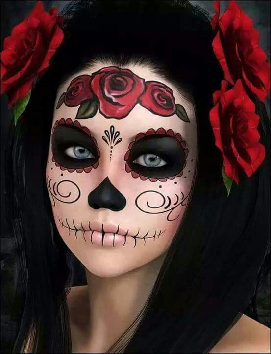Creative Halloween makeup