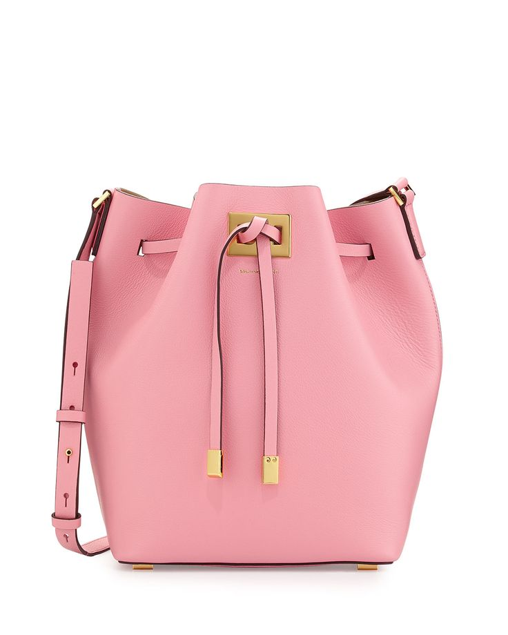 I adore bucket bags and this one by Michael Kors is the most darling shade of pink! Must have.
