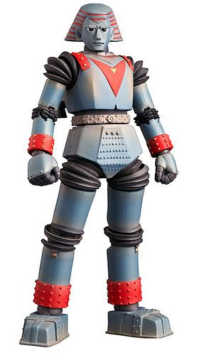 Giant Robot action figure by WoGzilla ☢ ゴジラ, via Flickr. Johnny Sokko and His Flying Robot.