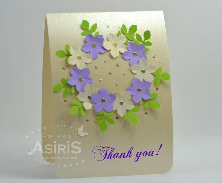 Thank You Handmade Card