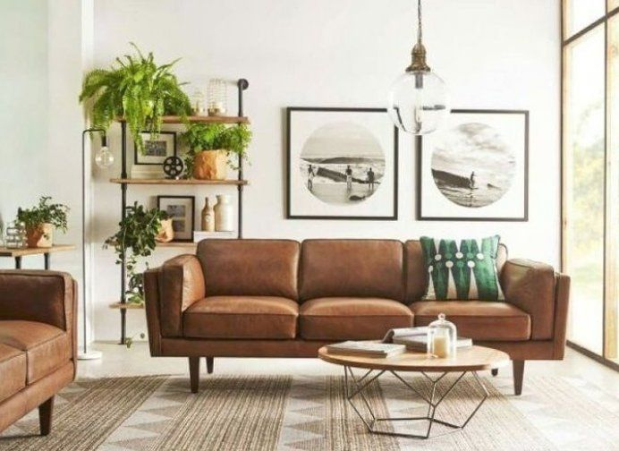 Home Decor Ideas Official Youtube Channel S Pinterest Acount Slide Home Video Hom In 2020 Mid Century Living Room Decor Tan Living Room Living Room Decor Brown Couch