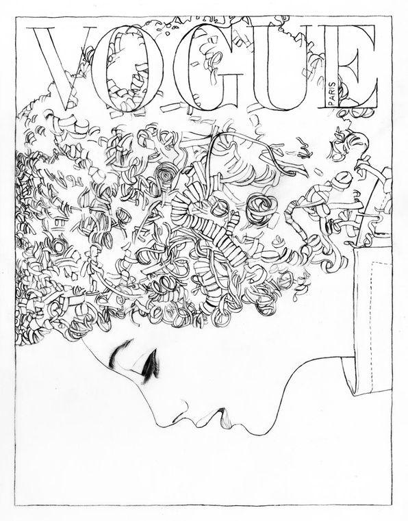 Vogue Paris In English Actualite Et Infos En Direct Vogue Fr Fashion Coloring Book Coloring Books Paris Illustration