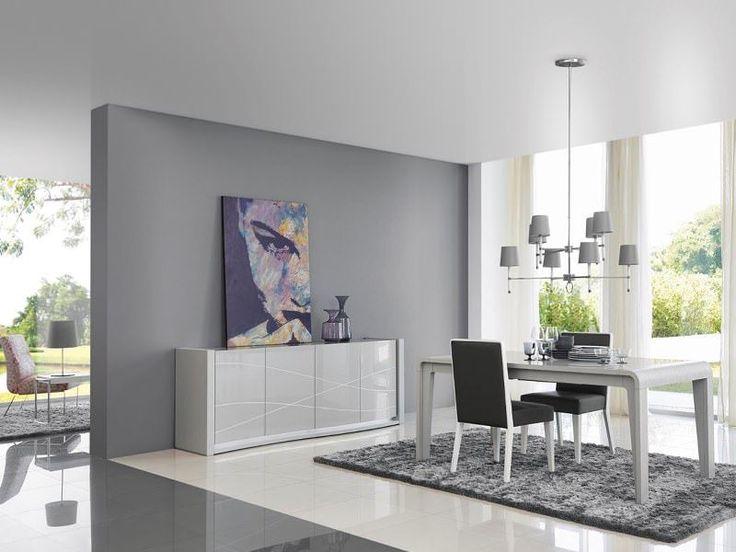 Las 25 mejores ideas sobre aparador gris en pinterest for Decorar mueble salon moderno