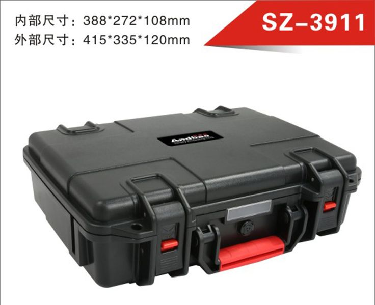 Tool case toolbox waterproof camera case with pre-cut foam  Survival Portable Container Tool Carry Storage with pre-cut foam