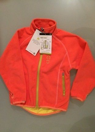 Kaufe meinen Artikel bei #Mamikreisel http://www.mamikreisel.de/kleidung-fur-madchen/outdoorbekleidung-jacken/35742408-mikk-line-softshelljacke-windbreaker-orange-gr-104