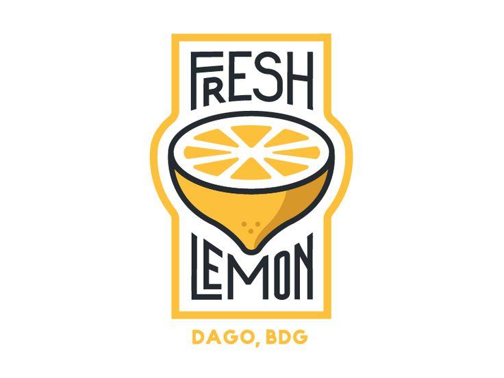 Fresh Lemon by Wehan Ilmajuang Supriyono #Design Popular #Dribbble #shots