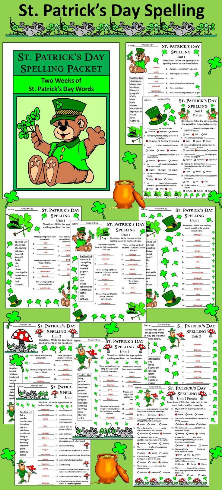 22 best st patricks day images on pinterest art activities learning resources and teaching. Black Bedroom Furniture Sets. Home Design Ideas