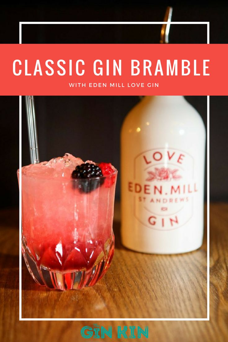 My absolute favourite gin cocktail of all time - the Bramble. Get the recipe here!
