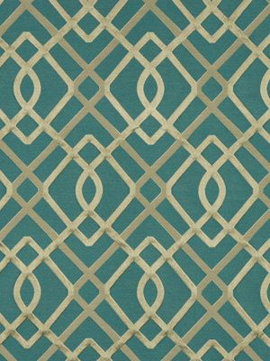Teal Upholstery Fabric Modern Upholstery by greenapplefabrics, $174.00 (of course, I would have expensive taste...)