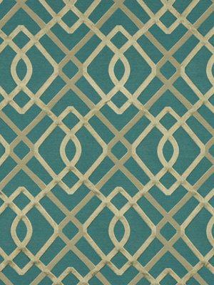 Teal Upholstery Fabric Modern Upholstery by greenapplefabrics, $174.00