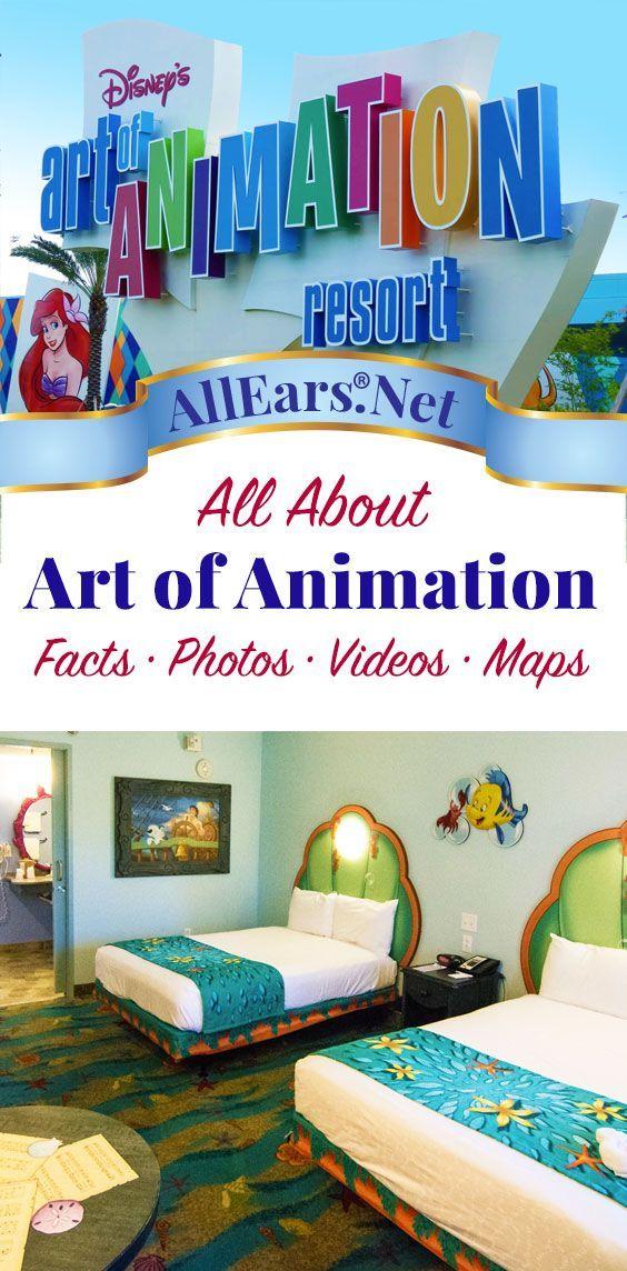 Disney World Resorts | All About Disney's Art of Animation Resort