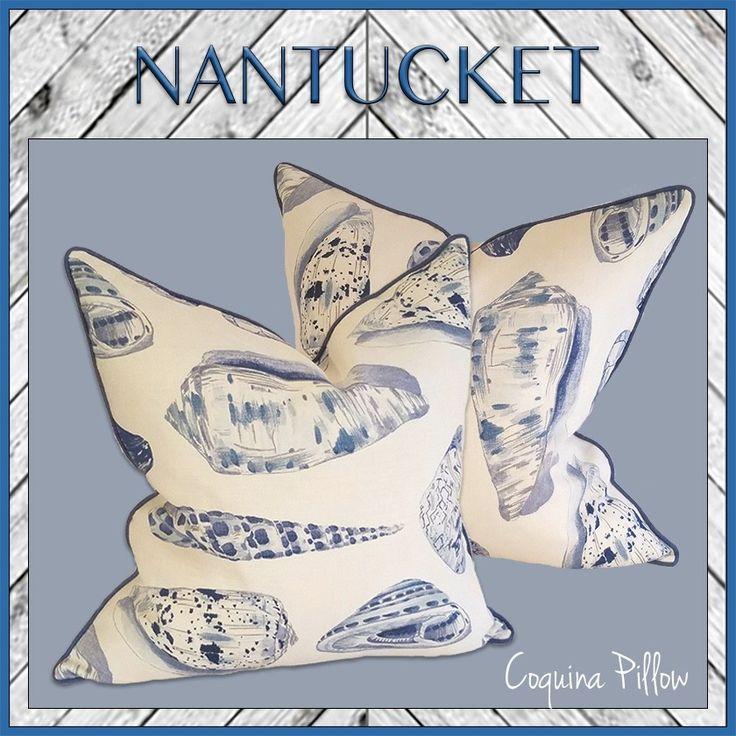 Nantucket Bedroom Design Ideas: Nantucket Collection Coquina Pillow