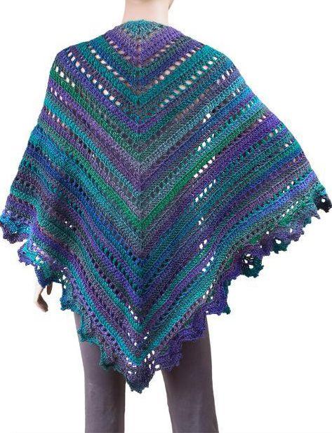 Penelope Shawl Free Crochet Pattern