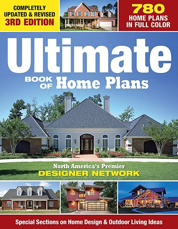 Free Download Ultimate Book Of Home Plans 780 Home Plans In Full Color North America S Premier Des In 2020 House Plans Build Your Own House House Design