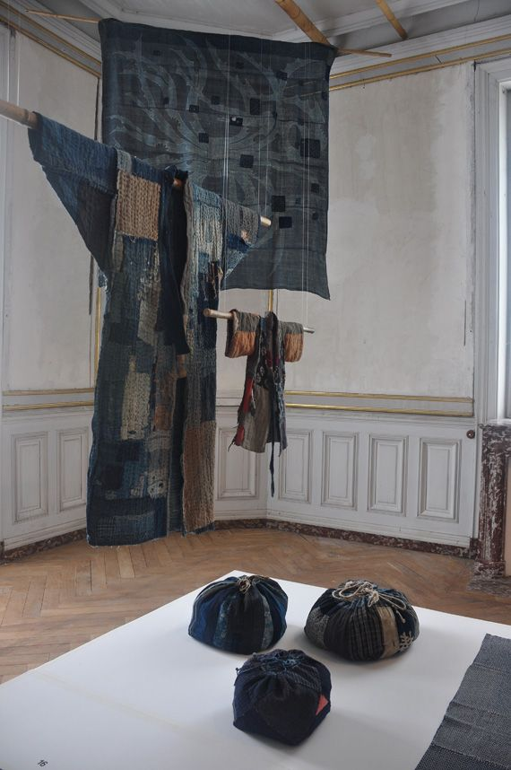 The exhibition Boro – The Fabric of Life, presented in the 19th century castle of the Domaine de Boisbuchet in Lessac