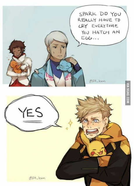 I love Spark like he love all pokemon