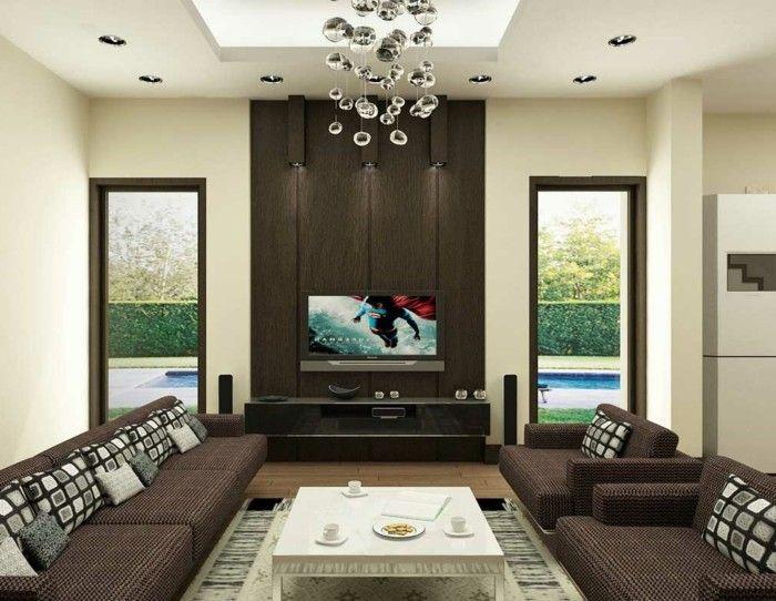 251 best Wandgestaltung Ideen images on Pinterest Couch, Home - braune wandgestaltung im wohnzimmer ideen